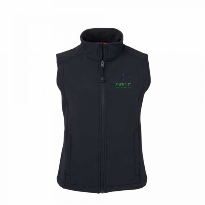 river city rowing club vest from view